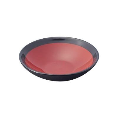 桐井陶器 朱赤15.4cm浅鉢 S152-58-82