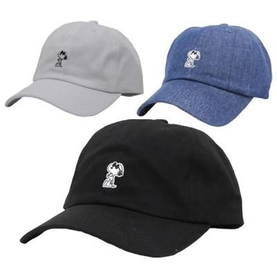 SNOOPY スヌーピー キャップ 帽子 メンズ レディース PEANUTS ピーナッツ シルエット Low cap ローキャップ