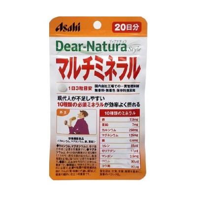 アサヒ Dear-Natura Style マルチミネラル60粒
