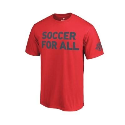 サッカー MSL ファナティクス Fanatics Branded Toronto FC Red 2018 Soccer For All T-Shirt