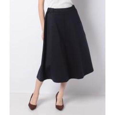 MELROSE Claire(メルローズ クレール)【セットアップ対応商品】【noir】ミラノリブスカート