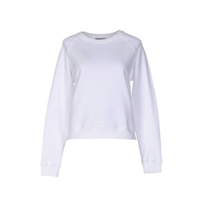 アレキサンダー マックイーン ALEXANDER MCQUEEN スウェットシャツ ホワイト 38 コットン 100% / ポリエステル スウェット