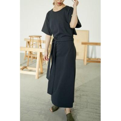 【ブラックバイマウジー】 back open dress レディース L/BLK 2 BLACK BY MOUSSY
