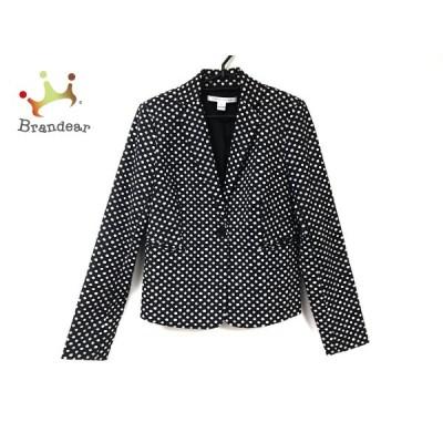 ダイアン・フォン・ファステンバーグ ジャケット サイズ6 M レディース 黒×白 新着 20200814
