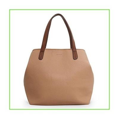 Women's Tote Bag Snap Handbag PU Leather Shoulder Bags Tote Bags for Women Khaki【並行輸入】【新品】