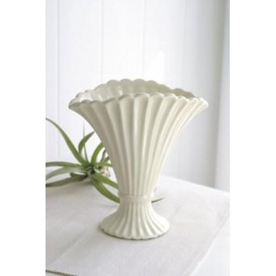 (まとめ買い)COVENT GARDEN クリーム・シェルベース 花瓶 PC-77 〔×6〕