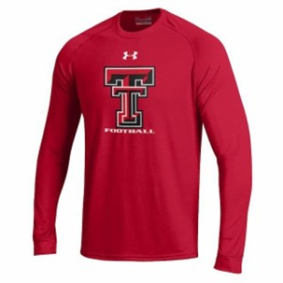 Under Armour アンダー アーマー スポーツ用品  Under Armour Texas Tech Red Raiders Red Football DNA Tech Performance