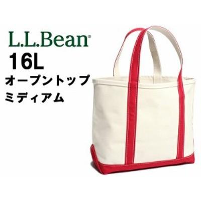 L.L.Bean オープントップ トートバッグ ミディアム 16L エルエルビーン 112636 メンズ レディース(01-60260019)