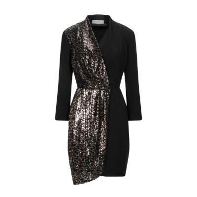 カオス KAOS ミニワンピース&ドレス ココア 42 ナイロン 100% / ポリエステル / ポリウレタン ミニワンピース&ドレス