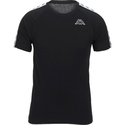 カッパ KAPPA メンズ Tシャツ トップス T-Shirt Black