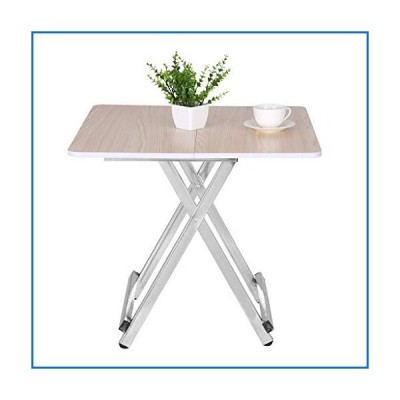 US Fast Shipment Bazahy Small Desk Laptop Study Writing Desk CPortable Folding Table Home Dining Table Casual and Convenient Folding Table,H