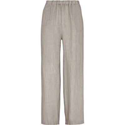 ジュームズ レイクランド James Lakeland レディース ボトムス・パンツ Wide Leg Linen Trousers TAUPE