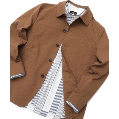 ジャケット ブルゾン <COOL MAX>カバーオールブルゾン