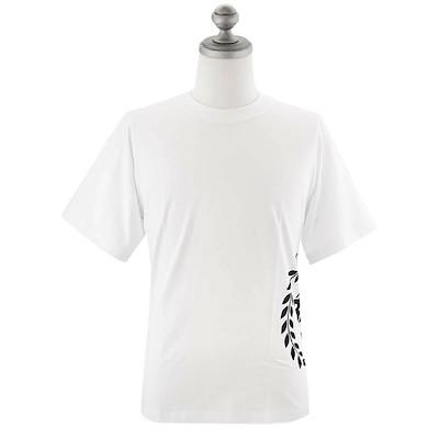 半袖Tシャツ B1112.1010 Crest Print Ss Bright white