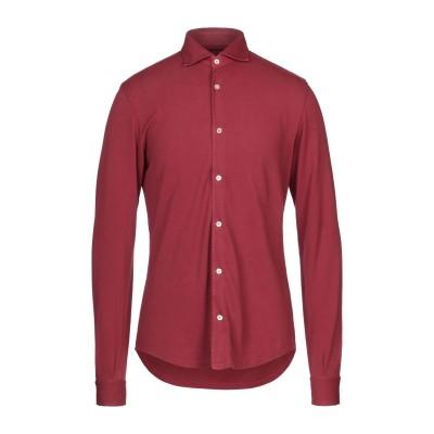 FEDELI シャツ レンガ 50 コットン 100% シャツ