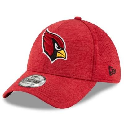 ユニセックス スポーツリーグ フットボール Arizona Cardinals New Era STH Perf 39THIRTY Flex Hat - Cardinal 帽子