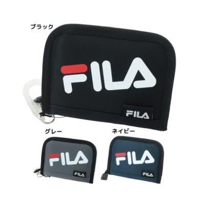 二つ折り財布 RFウォレット FILA フィラ 2トーンロゴ ヤング産業 ギフト雑貨