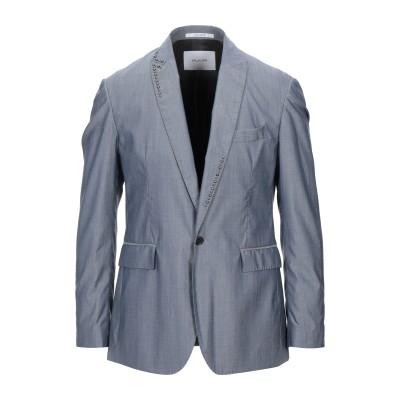 アリーニ AGLINI テーラードジャケット ブルーグレー 50 バージンウール 65% / コットン 35% テーラードジャケット