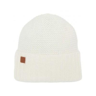 Frye フライ レディース 女性用 ファッション雑貨 小物 帽子 ビーニー ニット帽 Garter Stitch Slouchy - Ivory