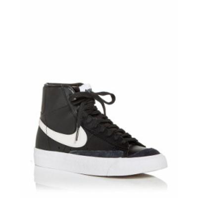 ナイキ レディース スニーカー シューズ Women's Blazer Mid '77 Vintage High Top Sneakers Black/White