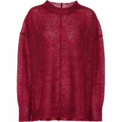 イザベル マラン Isabel Marant. Etoile レディース ニット・セーター トップス Chestery mohair and wool blend sweater Rasberry