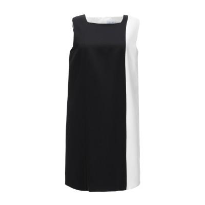 ジャンルカ・カパンノロ GIANLUCA CAPANNOLO ミニワンピース&ドレス ブラック 42 シルク 100% ミニワンピース&ドレス