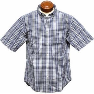 セール マックレガー ボタンダウン半袖シャツ メンズ 111169308 サッカー素材 半袖シャツ M/LL