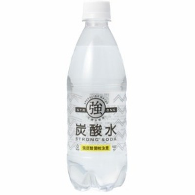 強炭酸水(500ml*24本入)[炭酸水(スパークリング)]