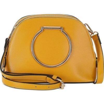サンドラロバーツ Sondra Roberts ユニセックス ハンドバッグ サッチェルバッグ バッグ Small Ring Satchel Yellow/Gold