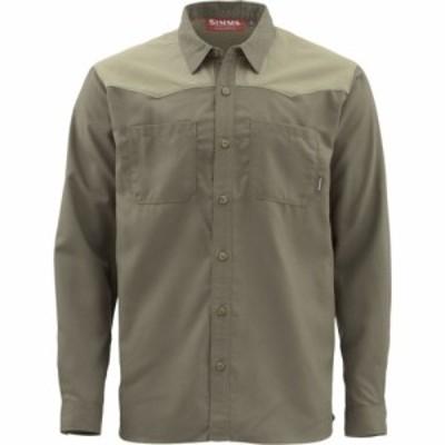 シムス Simms メンズ シャツ フランネルシャツ トップス Blacks Ford Flannel Shirt Dark Stone