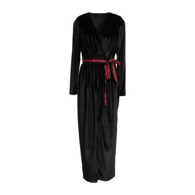 NORA BARTH 7分丈ワンピース・ドレス ブラック 42 ポリエステル 92% / ポリウレタン 8% 7分丈ワンピース・ドレス