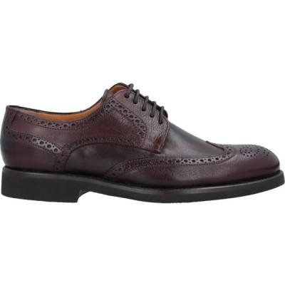 カルピエッレ CALPIERRE メンズ シューズ・靴 laced shoes Deep purple