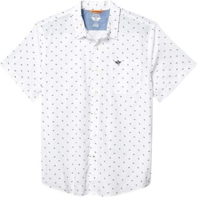 ドッカーズ Dockers メンズ 半袖シャツ トップス Supreme Flex Short Sleeve Button-Down Shirt Saucer Print