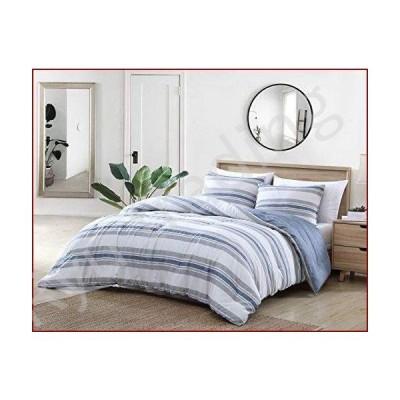 新品Nautica Home | Bay Shore Collection| Comforter Set- 100% Cotton Ultra Soft, All Season Bedding, Pre-Washed for Added Softness, Twin/Tw