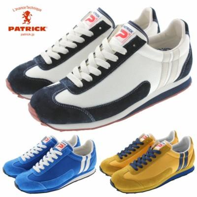 交換返品送料無料 パトリック スニーカー PATRICK マイアミ 17 MIAMI 17 クリーム(529000) ブルー(529002) イエロー(529005)