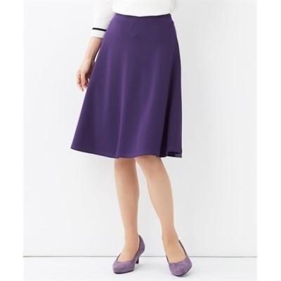 【大きいサイズ】 人気のためネット限定色追加!!カットソー無地フレアスカート(選べるスカート丈) スカート, plus size skirts