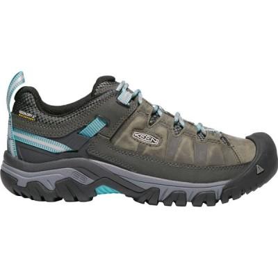キーン KEEN レディース ハイキング・登山 シューズ・靴 Targhee III Waterproof Low Hiking Shoes ALCATRAZ