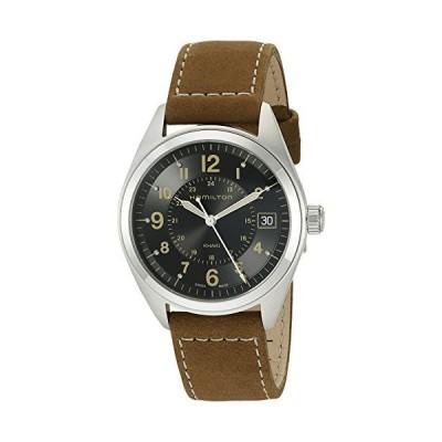 Hamilton ハミルトン メンズ 時計 腕時計 Men's H68551833 Khaki Field Analog Quartz Brown W