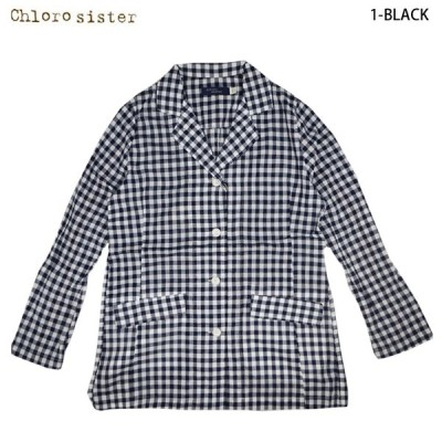 chloro sister クロロシスター ギンガムコート 3colors (CS2284) SS15LT