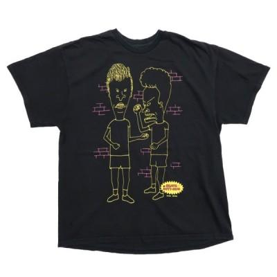 ビーバス&バットヘッド プリントTシャツ サイズ表記:--