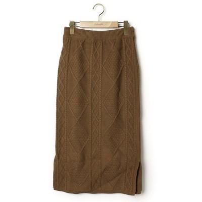 スカート 【she mo shelly】ニットスカート