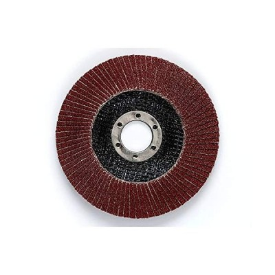 """3M Cubitron II Flap Disc 967A - 40+ Grit Ceramic Precision Shaped Grain - Type 27 Quick Change Angle Grinder Disc - 4.5"""" x 5/8-11 Thread - Pack of 10,"""