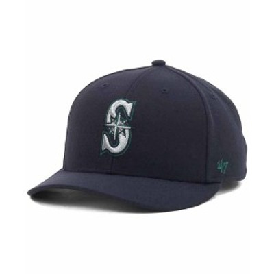 47ブランド メンズ 帽子 アクセサリー Seattle Mariners MLB On Field Replica MVP Cap Navy
