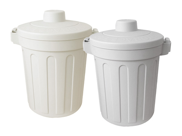 ins風簡約素色帶蓋桌面垃圾桶(1入) 款式可選【D011875】