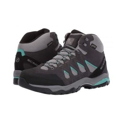 SCARPA スカルパ レディース 女性用 シューズ 靴 ブーツ ハイキングブーツ Moraine Mid GTX - Grey/Lagoon