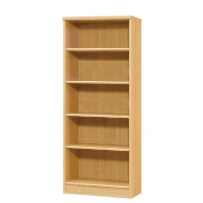 本棚 書棚 ブックシェルフ オープンラック 高さ150cm ナチュラル