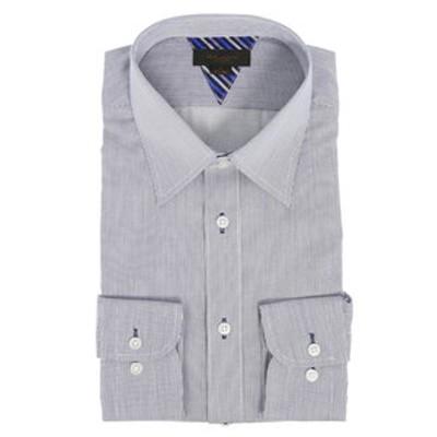 形態安定抗菌防臭スリムフィット レギュラーカラー長袖ビジネスドレスシャツ/ワイシャツ