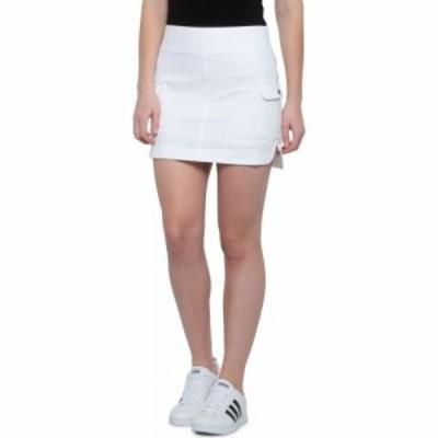 キョーダン Kyodan Outdoor レディース ミニスカート スコート スカート woven snap pocket skort - built-in shorts White