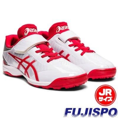 スター シャイン TR 2 アシックス(asics)【野球・ソフト】ジュニア トレーニングシューズ トレシュー ランニング 靴(1124A009-101)ホワイト×レッド