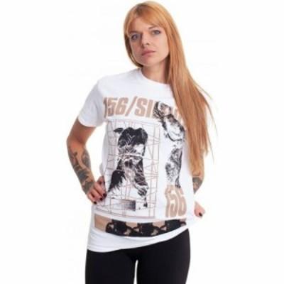 インペリコン Impericon レディース Tシャツ トップス - Statue White - T-Shirt white